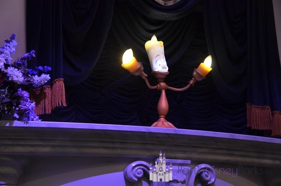 Enchated Tales with Bellle Departed Disney Parks