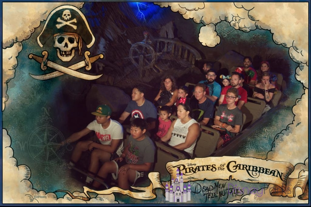 Pirates of the Caribbean - Departed Disney Parks
