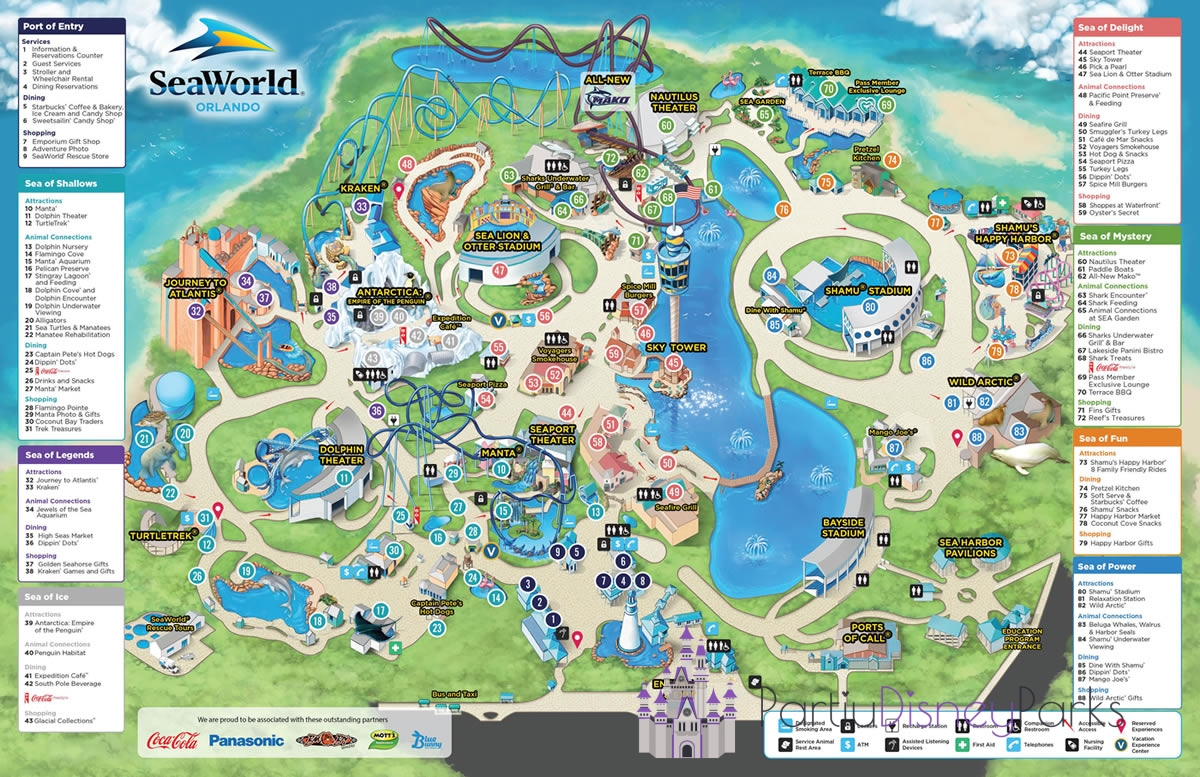 Orlando And Disney Parks Maps In 2021 Pdp Orlando